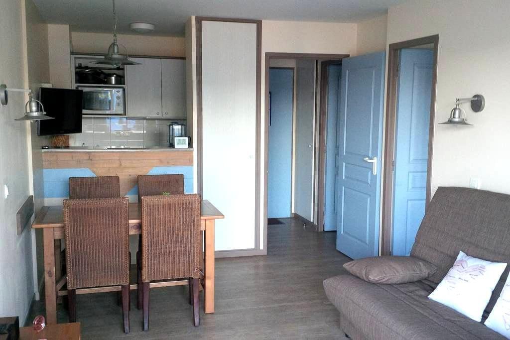 Appt 4pers Belle Dune - pass Aquaclub sur demande - Fort-Mahon-Plage - Apartemen