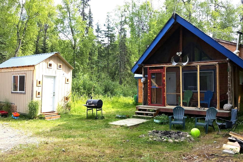 Cabin and Tiny Home - Talkeetna - House