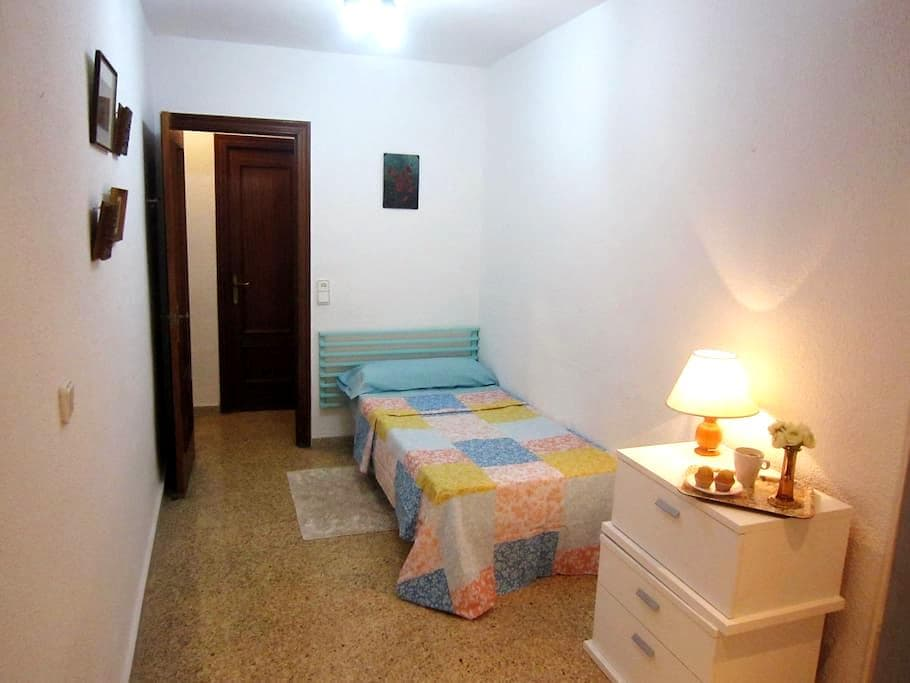 Room in Shared Flat with Terrace, WiFi - València - Apartmen