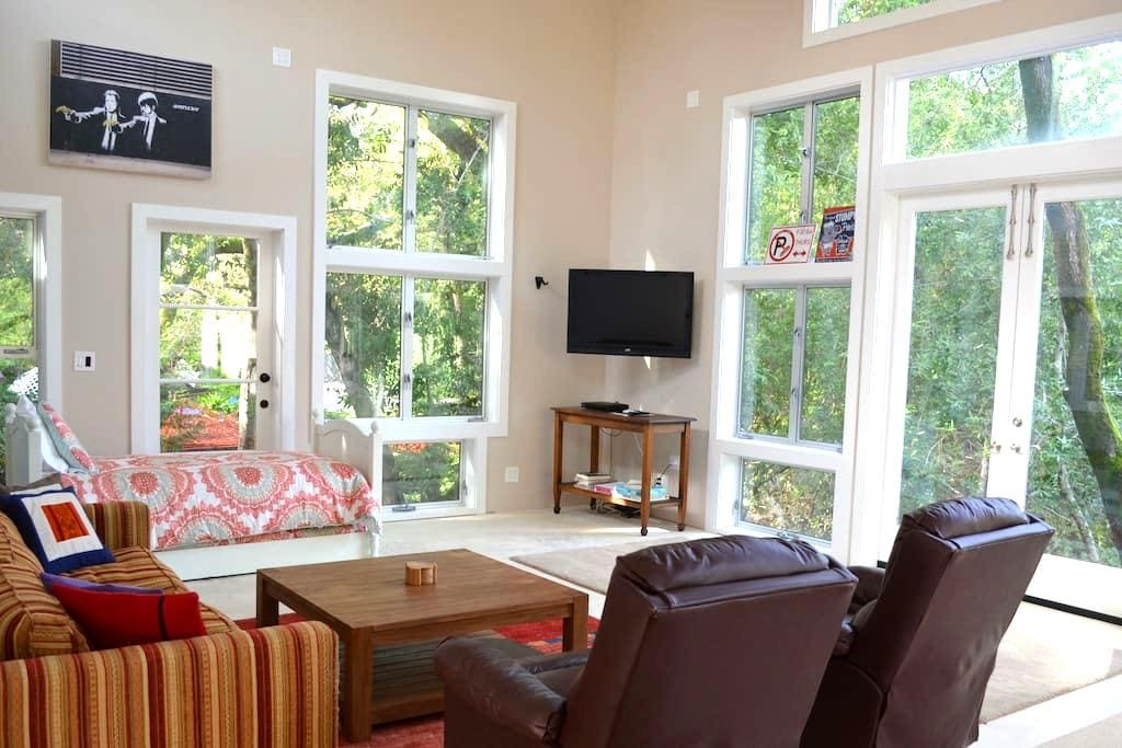 Funky 1B Musician's Cottage, Treehouse Feel! - Kentfield - Cabaña