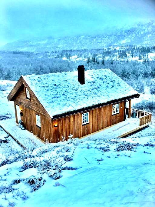 Hytte ved Hardangervidda - Eidfjord kommune - Kulübe