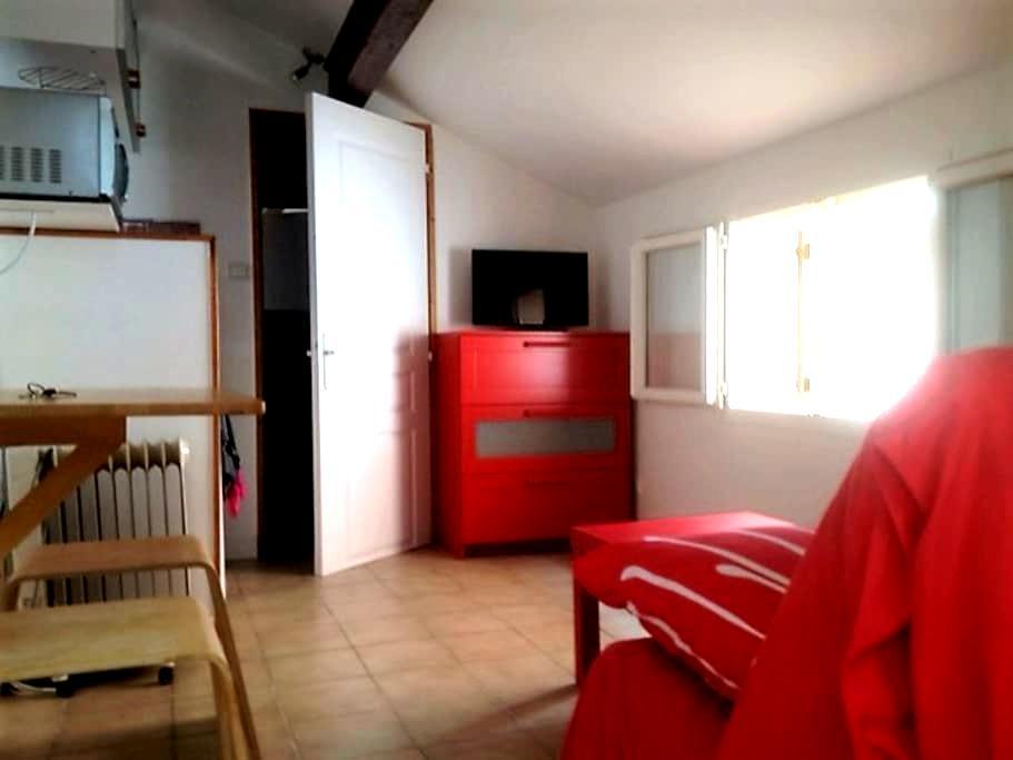 Studette indépendante, terrasse -Montpellier ouest - Saint-Jean-de-Védas - Apartment