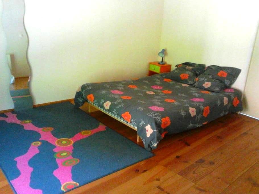 chambre avec sdb privative à seix - Seix - Rumah