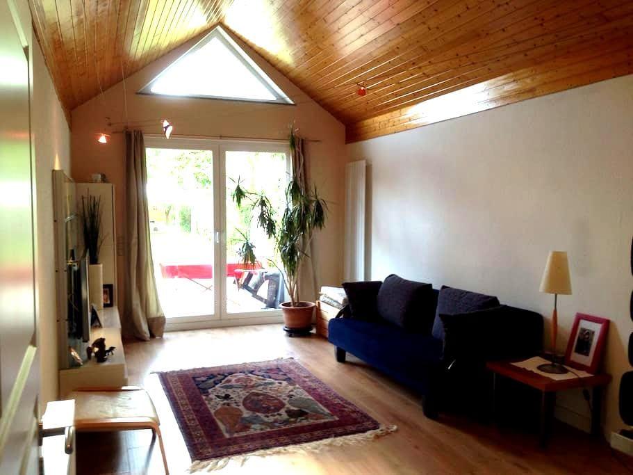Ruhige grüne Lage - kleines Haus (Nähe A23/A7) - 漢堡 - 獨棟