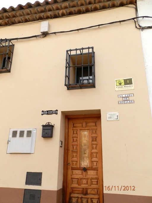 CASA DE NOHALES - Cuenca - Selveierleilighet