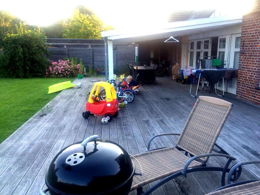 Hus og have - perfekt med børn - Taastrup