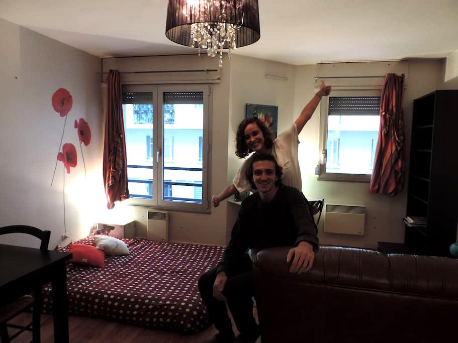 APARTAMENTO MULTICULTURAL EN EL CENTRO DE LYON - Lyon - Apartamento