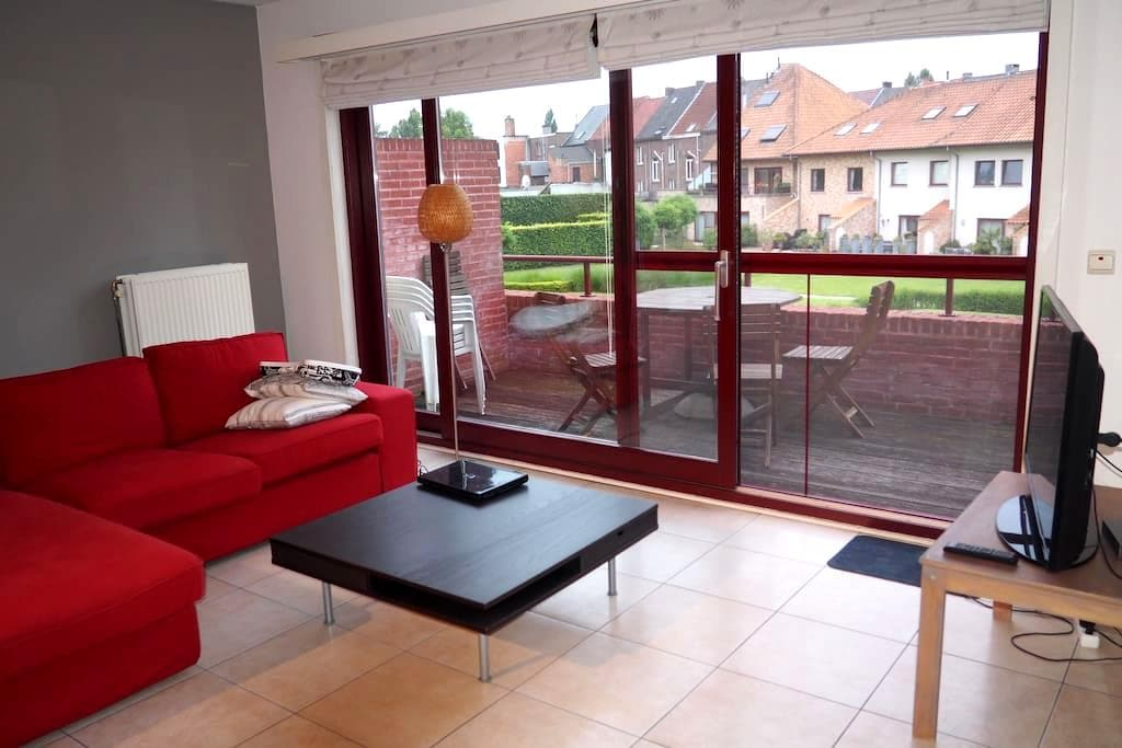 Bright spacious apartment in the center of Aalst - Aalst - Appartement