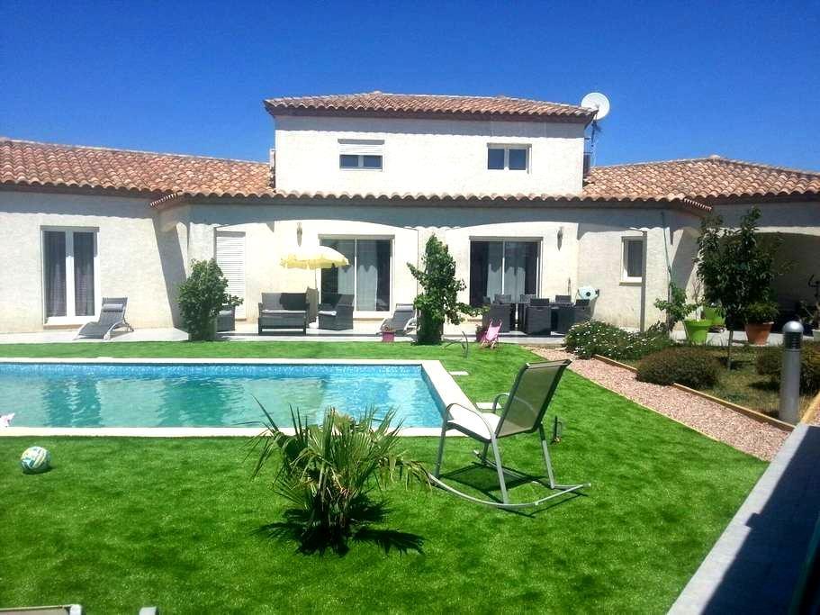 Magnifique villa avec piscine. - Narbonne - House