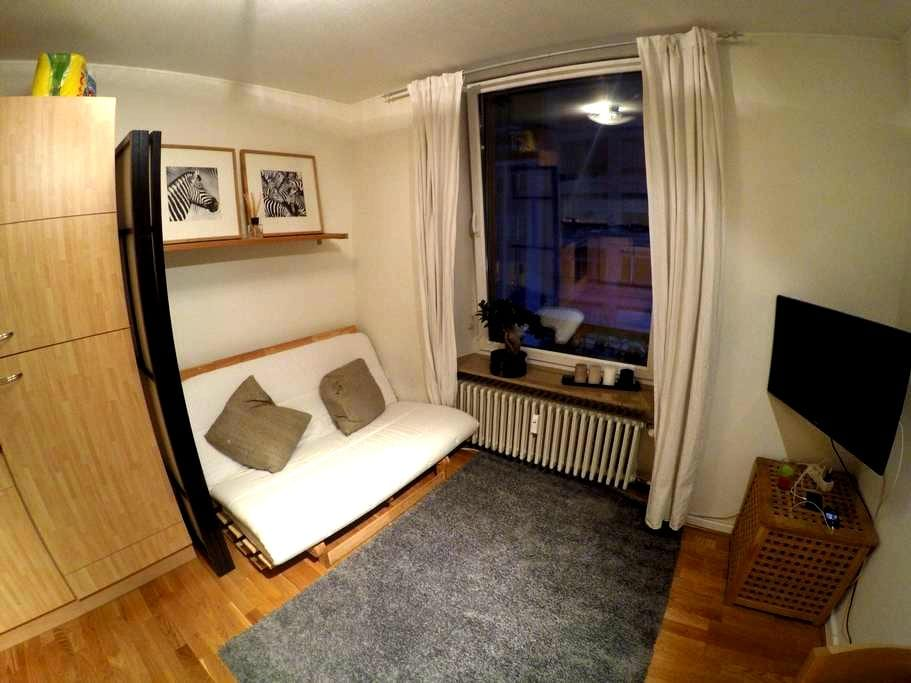 Lovely double sofa bed in centre - Lüksemburg - Daire