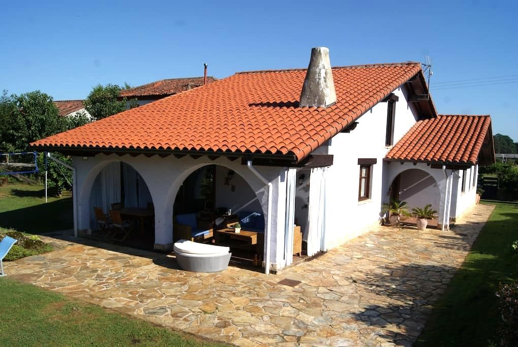 Beatiful house with pool in the heart of Cantabria - Entrambasaguas - Huis