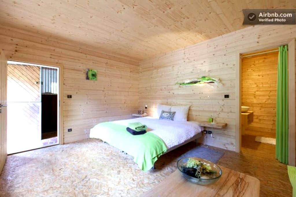 """La nature m'a dit"" ... CHAMBRE 2/2 - Oberhaslach - Bed & Breakfast"
