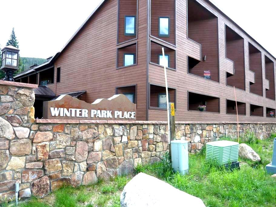 Backs to River, Walk to Lifts - Winter Park