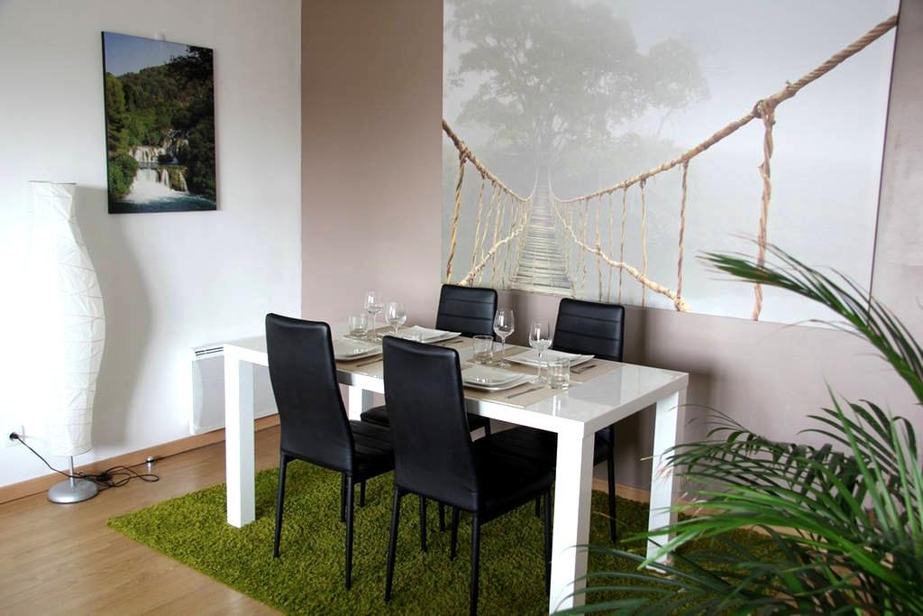 Appartement 70m² proche CHR Lille pour 4 voyageurs - Loos - Apartment