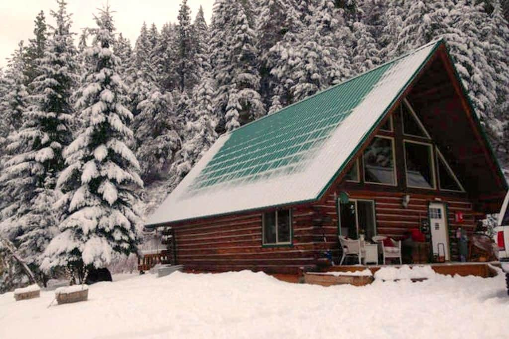 Private Log Cabin in the Mountains of Leavenworth - Leavenworth - Cabana