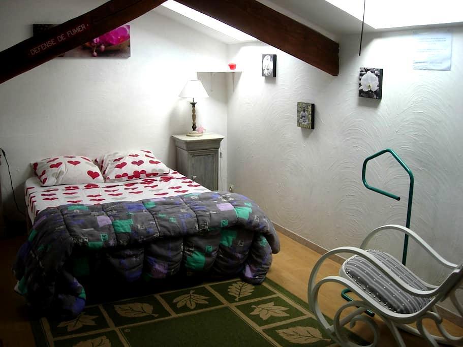 Deux chambres dans grande maison - Saint-Martin-d'Auxigny - 獨棟
