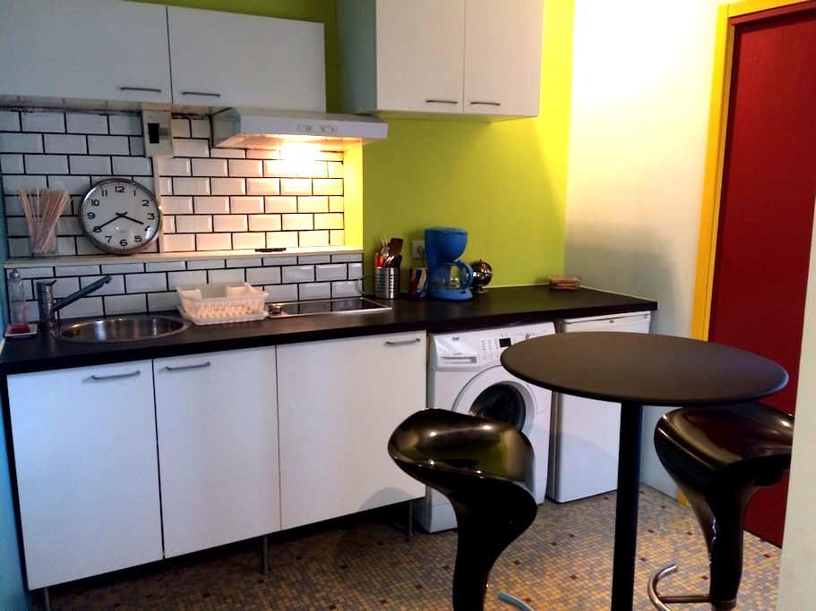 Joli petit studio au coeur de Sète - Sète - Apartemen