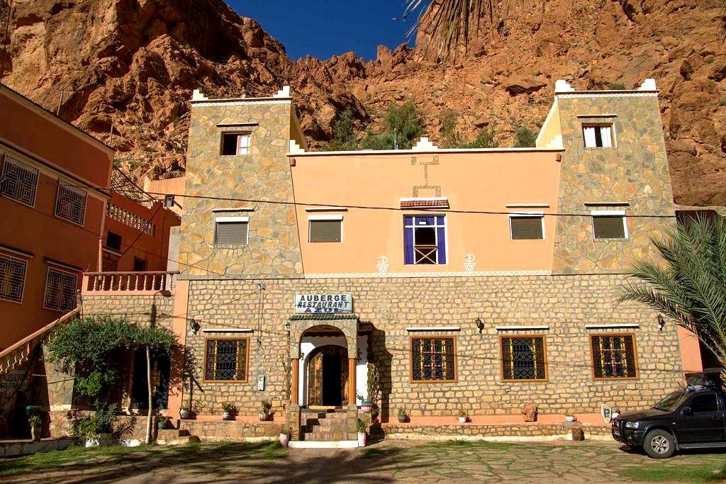 Hôtel Azul, chambre 2 personnes - Tinghir - Hotel butik