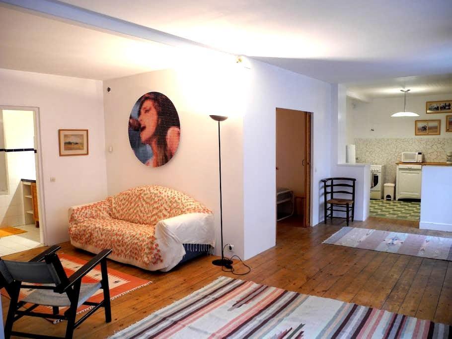 Appartement dans cour paysagée calme et agréable - Saint-Étienne - Huoneisto