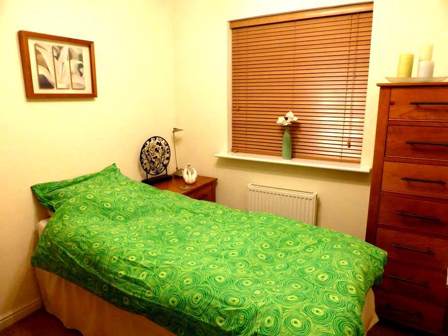 Single bedroom and shared bathroom - Cardiff - Bed & Breakfast