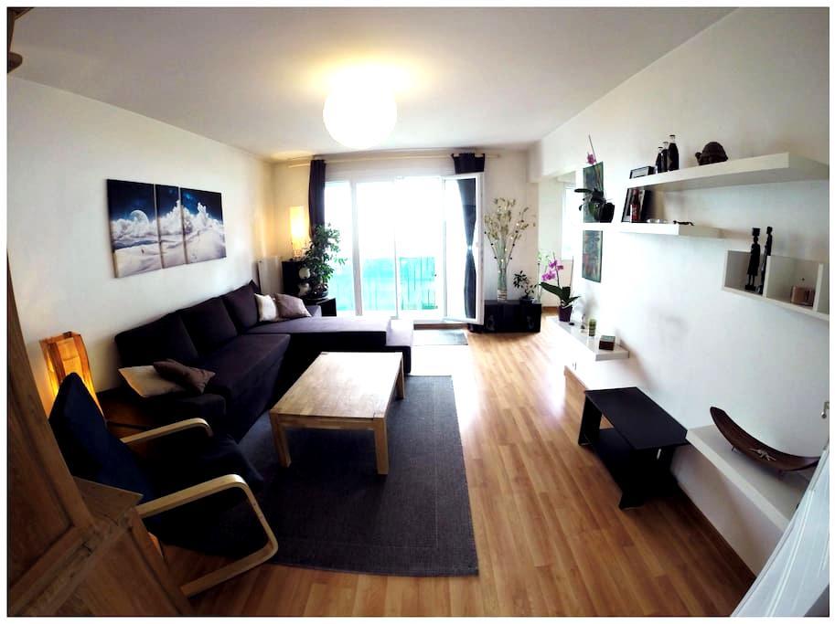 Appartement lumineux en copropriété - Besançon - Apartamento