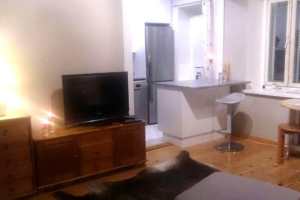 Hyvä keskustayksiö. Cozy studio in the city centre - Kotka - Apartament