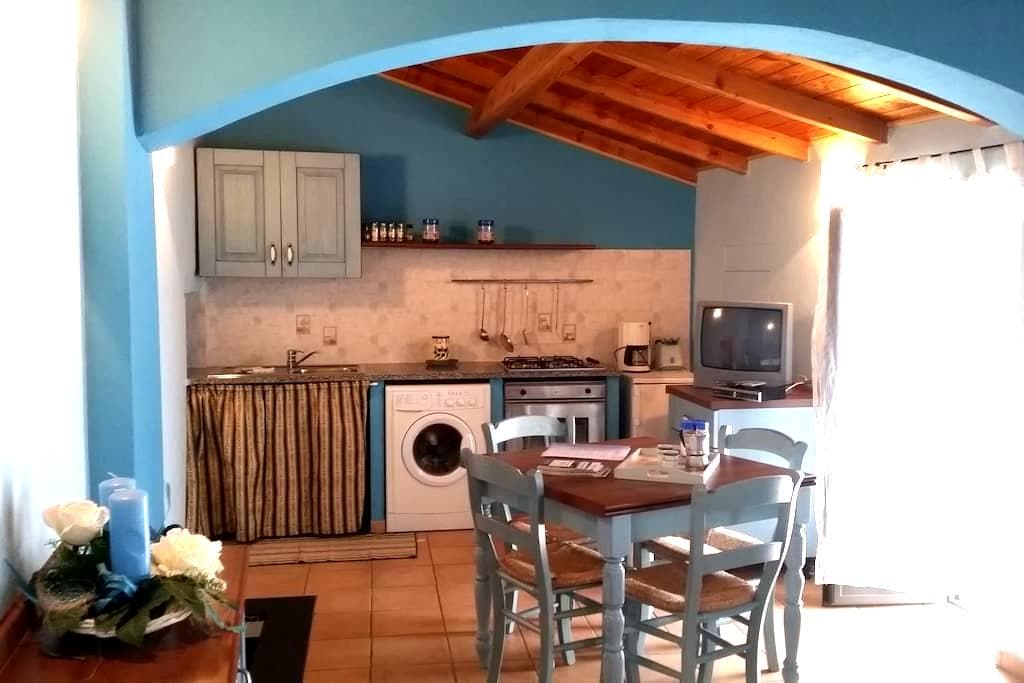 AGRITURISMO IL POGGIO: appartamento AZZURRO - Vasia - 公寓