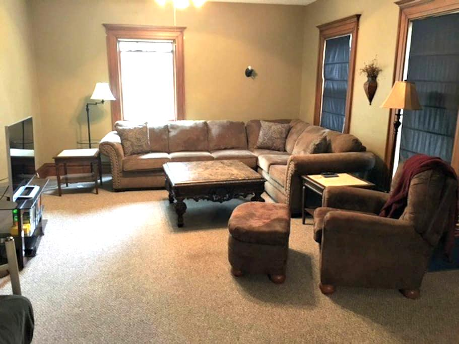 Unique, historic apt near downtown Sioux Falls - Sioux Falls - Apartamento