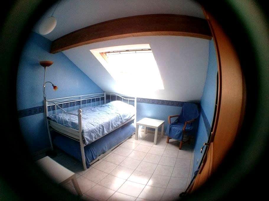 Mein kleines blaues Zimmer (für 1-2 Personen) - Kerbach - Rumah