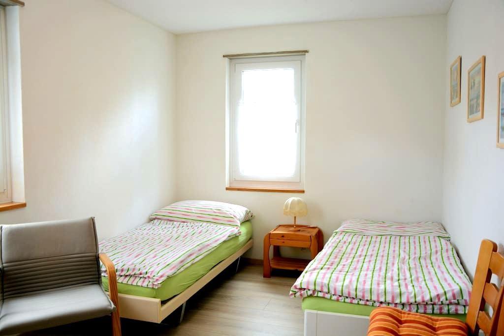 Zimmer 1 - Trasadingen - Casa