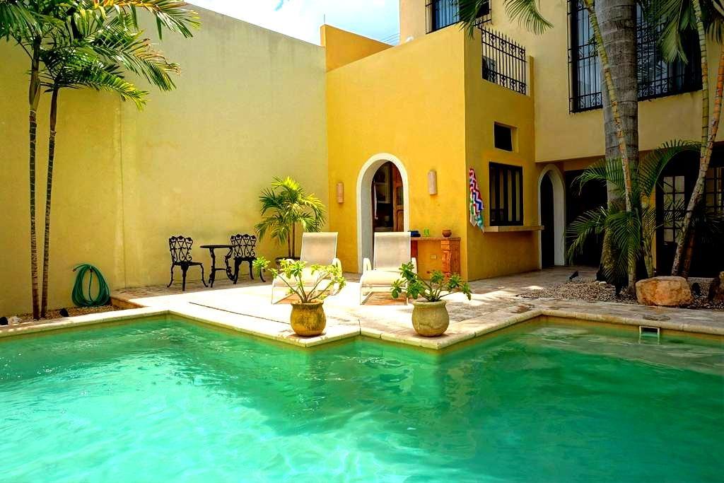 Pvt Rm in 165 yr Old Colonial #2 - Mérida - Casa de camp