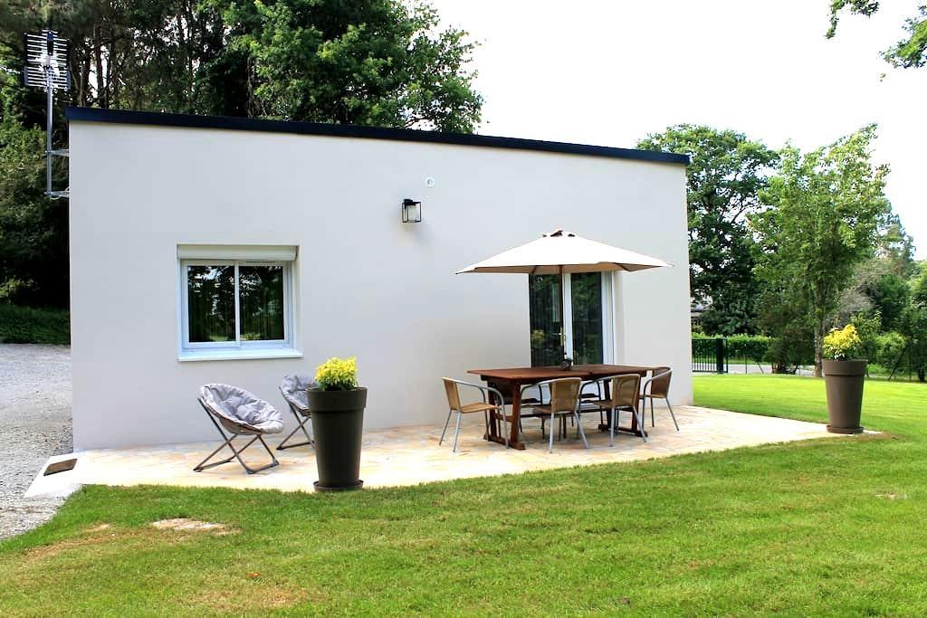 Maison au calme avec vue sur la vilaine - La Chapelle-de-Brain - Rumah