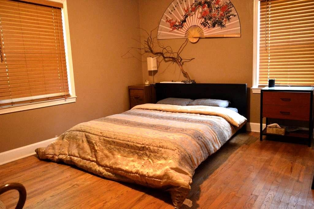 Cozy home for travelers of all sort - Winston-Salem - Casa