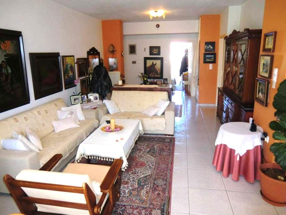 City central quiet flat, 0,2km from the old town - Rethymno