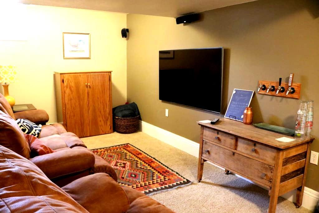 Entire Basement Suite Near Downtown - Cheyenne - Casa