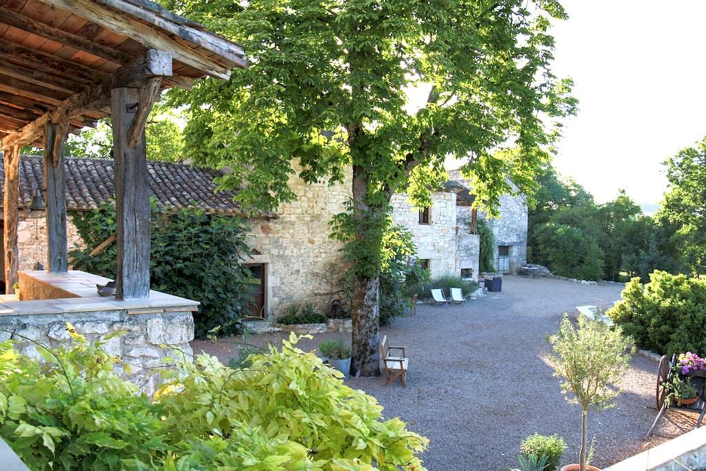 Gîte de la Boissière, maisonette familiale - Andillac - Blockhütte