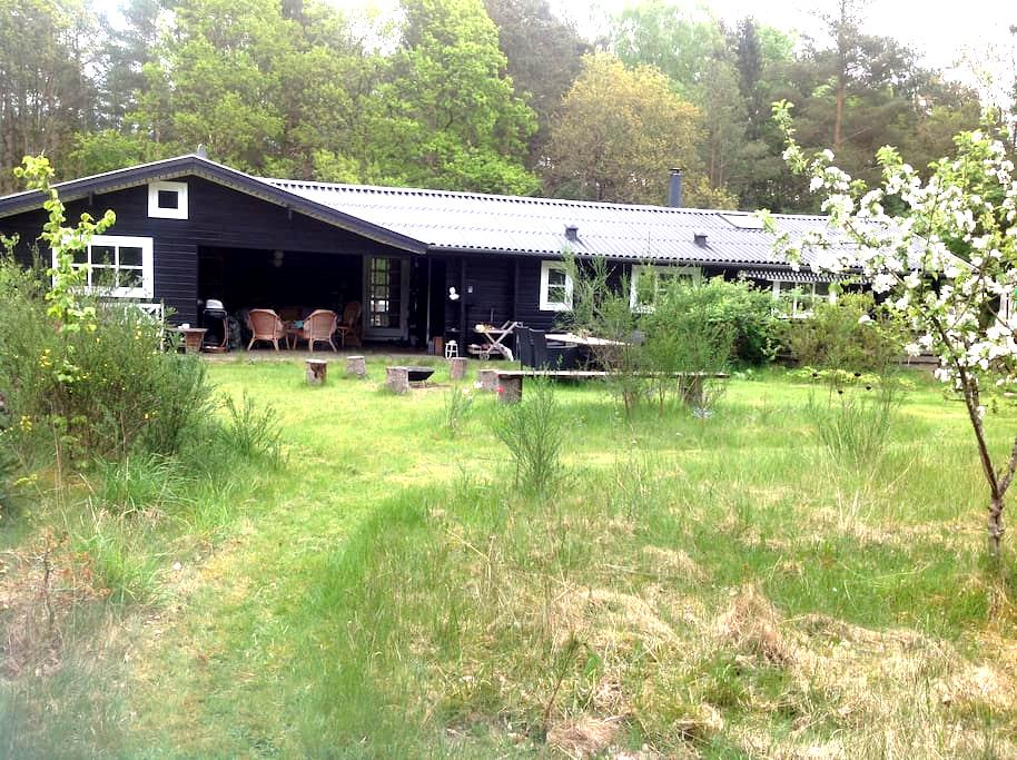 Stort familievenligt sommerhus - Ebeltoft