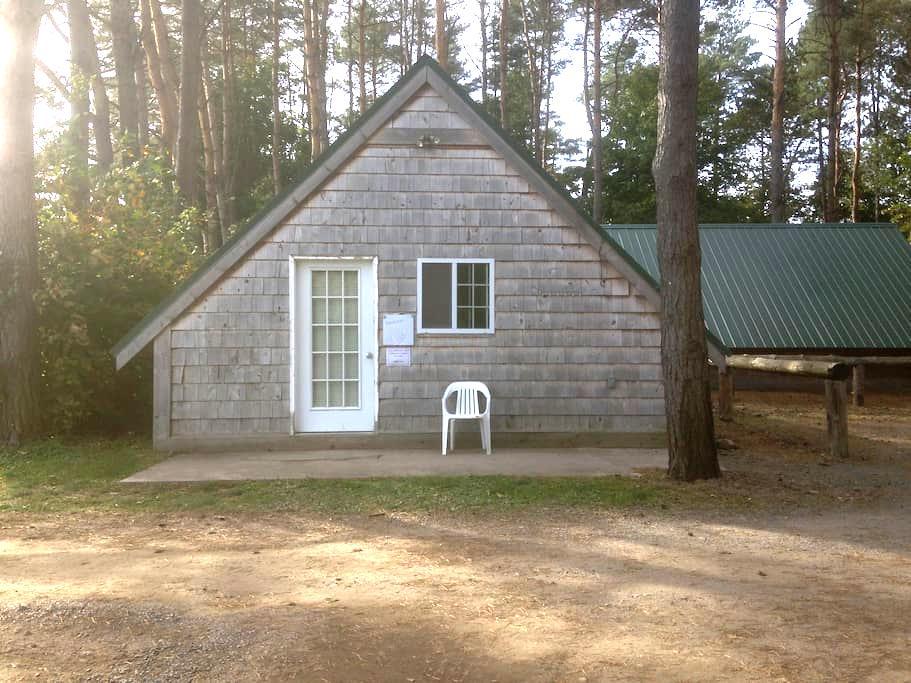 Private Cabins - Altmar - Blockhütte