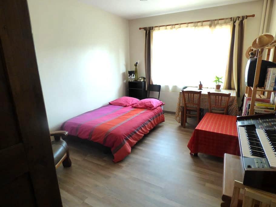 Chambre privée, appart à partager - Saint-Louis - Appartement