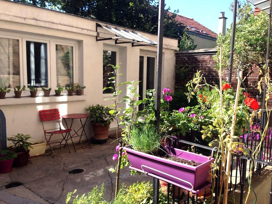 Petite maisonnette sur cour - Fontenay-sous-Bois - Appartamento