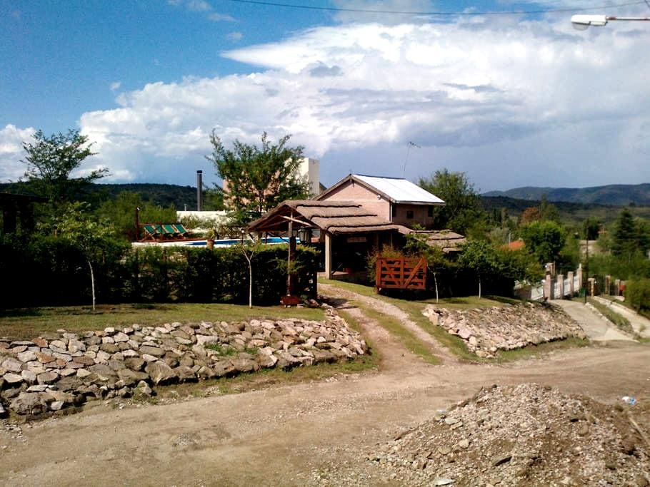 Cabañas Samana Huasi en Mayu Sumaj - Villa Icho Cruz - Allotjament sostenible a la natura