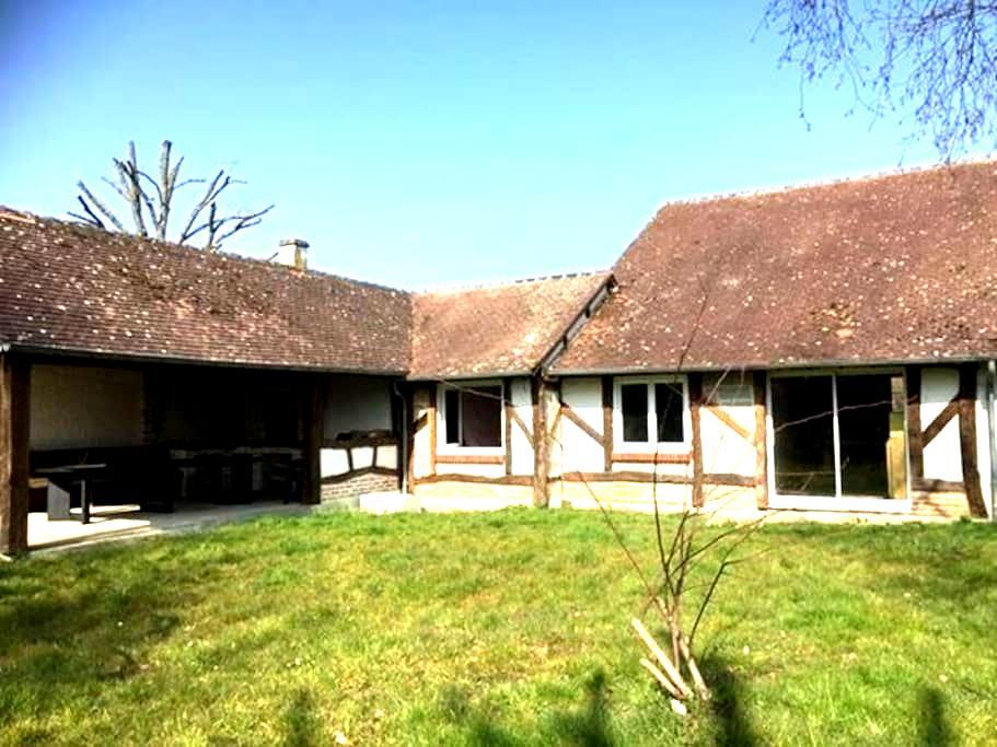 Le Grand Chaudron (9 pers - terrasse couverte) - Pierrefitte-sur-Sauldre - Haus