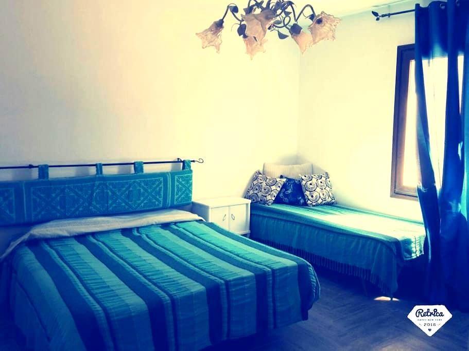 Camera+bagno,angolo cottura,terrace - San Pasquale, Lu banconi arana  - Huis