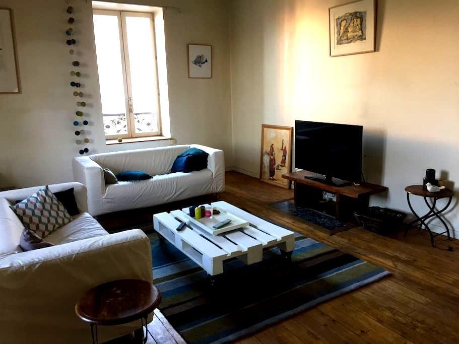 Duplex 120m2  centre ville Roanne,, - Roanne - Apartment