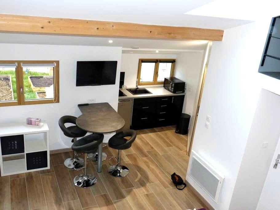 Petit loft avec mezzanine - Dijon - Lejlighed