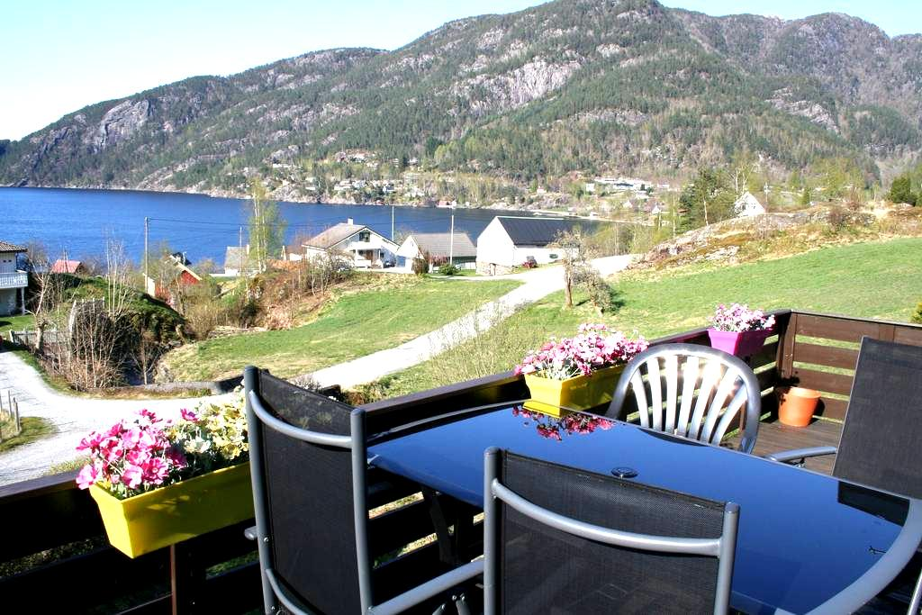 Room 1 - great view of the fjord! - Jondal - Huis