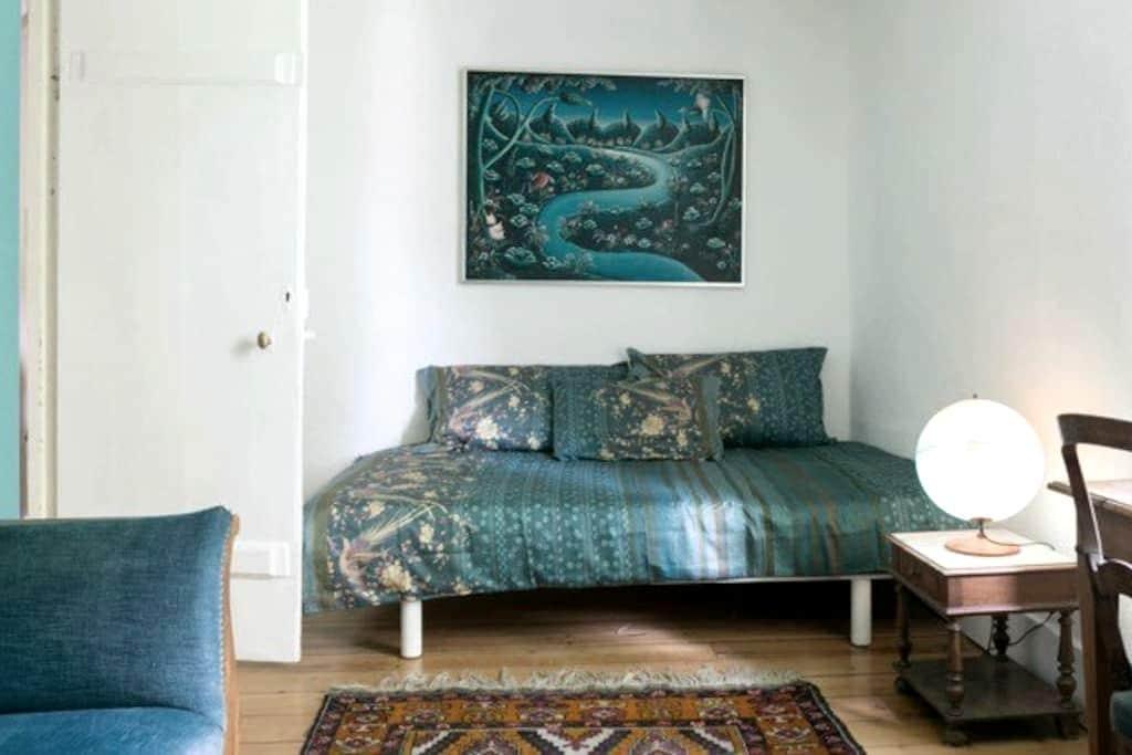 The Corto Maltese room in farmhouse - Genève - House