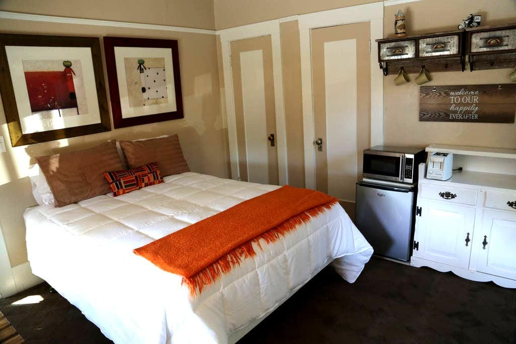 Comfortable private room . Excelent location! - Redwood City - Huis