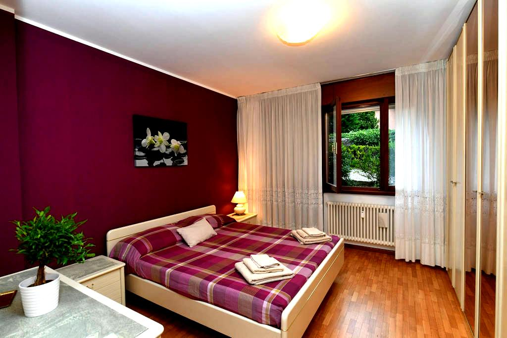 Huge Balcony | Mountain View | 2 parking | Library - Trento - Apartment