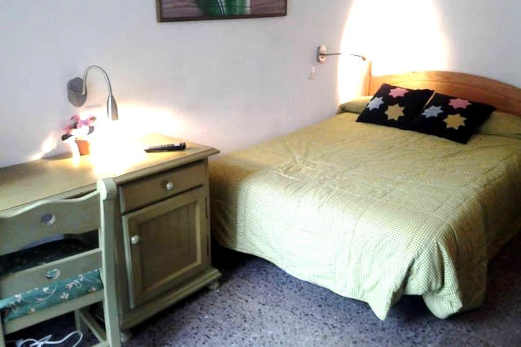 Dormitorio doble Soleado  Playa WiF - Alicante - Huis
